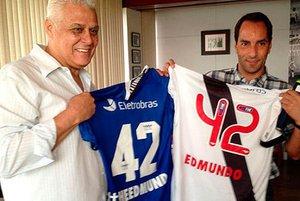 Roberto Dinamite e Edmundo