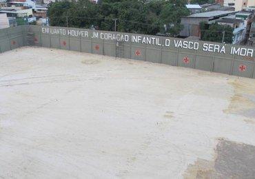 Relembre como foi a construção do campo anexo de São Januário