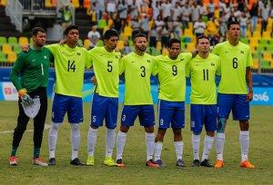 Equipe brasileira conquista medalha de bronze no futebol de 7 PC