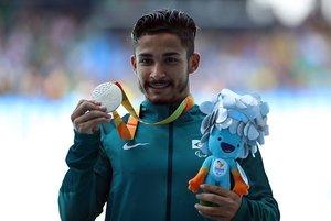Fábio Bordignon e sua medalha