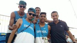 Seleção Brasileira de Futebol 7 e Nenê