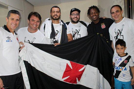 Jorginho, Leonardo, Raphael, Victor, Andrezinho e Nelson