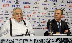 Eurico Miranda e Milton Mendes