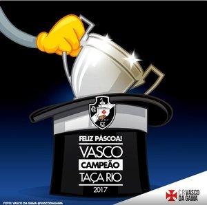 Vasco campeão da Taça Rio