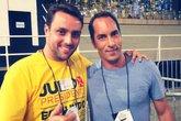 Julio Brant e Edmundo (Foto: Reprodução)
