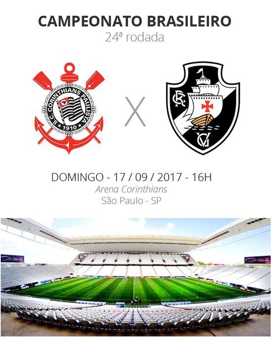 Corinthians X Vasco da Gama