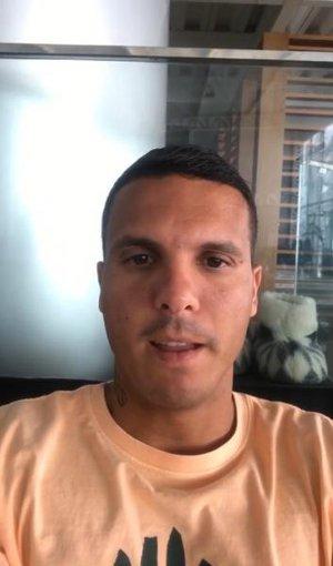 Ramon em video de agradecimento