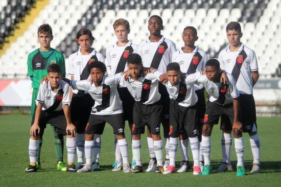 Jogadores sub-12 Vasco da Gama