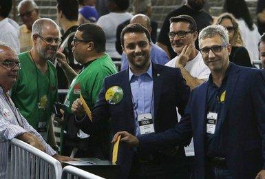 Julio Brant e Alexandre Campello na eleição do Vasco