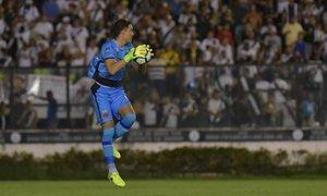 Martin Silva em ação pelo Vasco