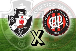 Vasco x Atlético-PR