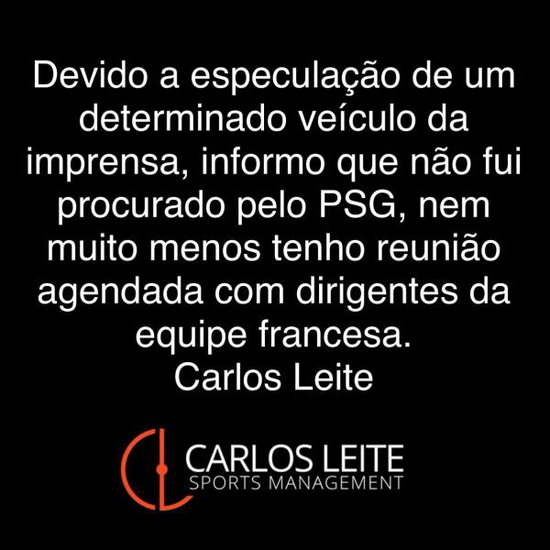 Pronunciamento do Carlos Leite