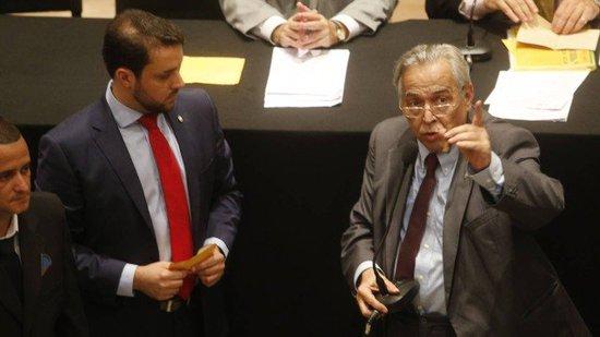 Eurico Miranda chegou a discutir com Brant durante a votação do Conselho Deliberativo