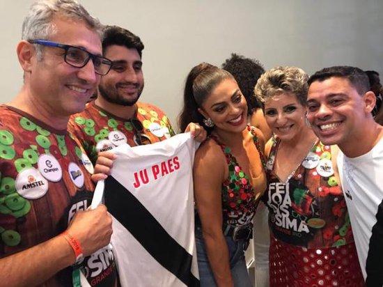 Juliana Paes e Emerson Dias