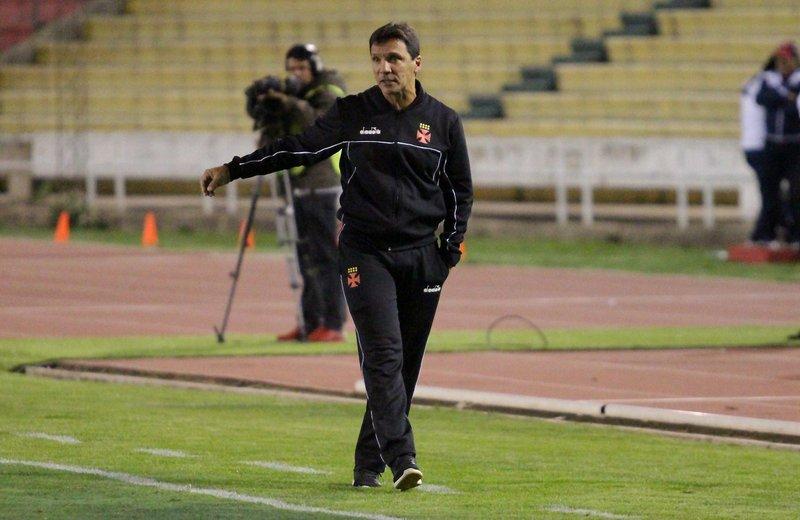 Zé Ricardo recebeu a proposta depois do primeiro jogo contra o Jorge Wilstermann