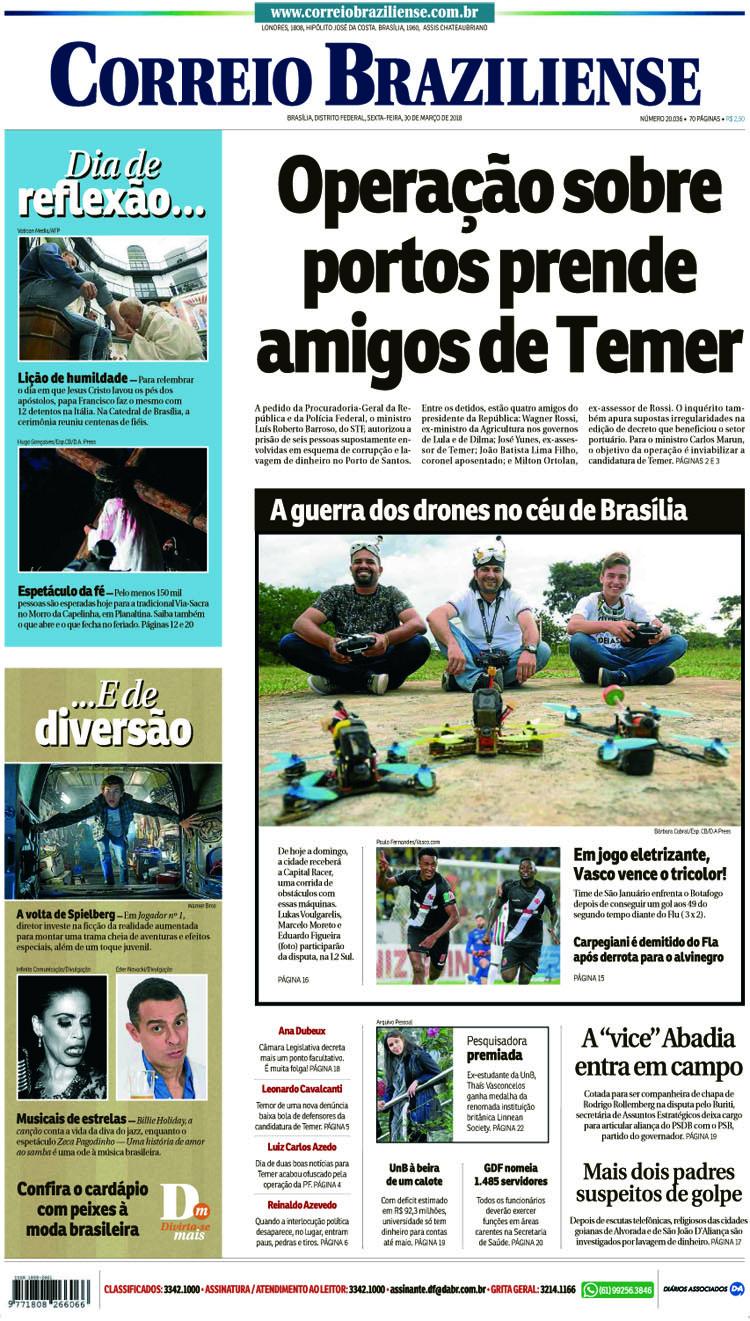 Capa Vasco x Fluminense