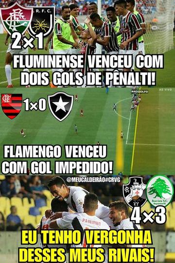 Meme: Vasco 4 x 3 Boavista
