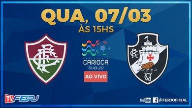 Sub-20: Fluminense x Vasco