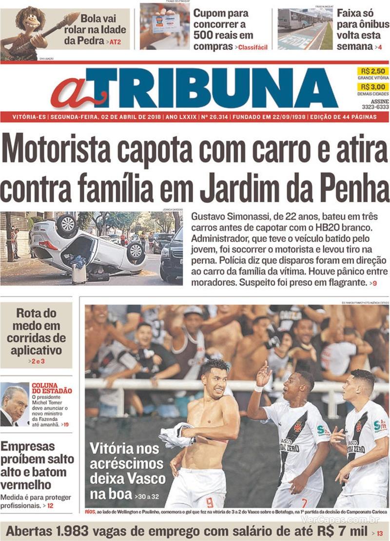 Jornal Vasco x Botafogo