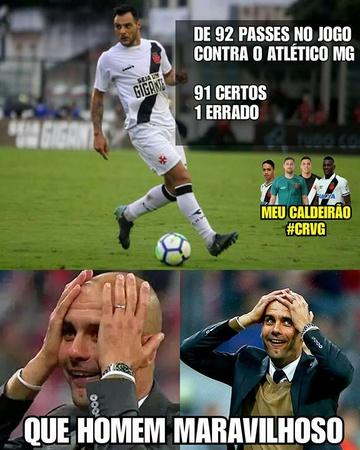 Meme Vasco x Atlético-MG