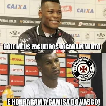 Meme: Vasco x Cruzeiro
