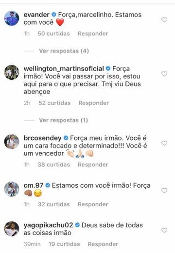 Mensagens para Marcelo Mattos