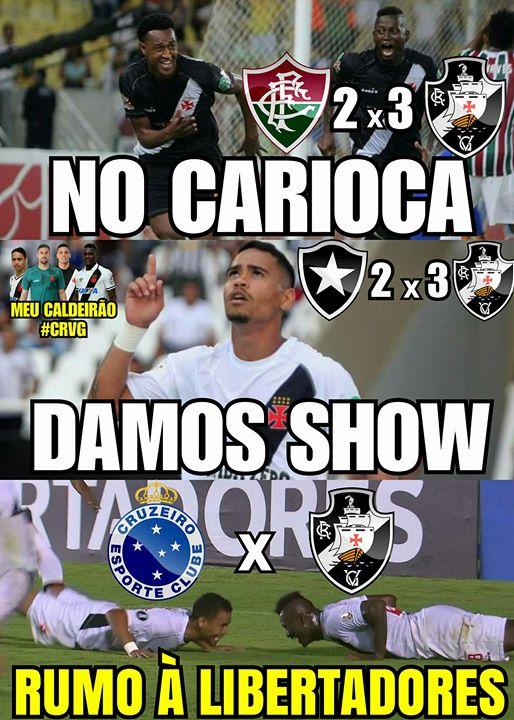 No Carioca damos um show; rumo a Libertadores