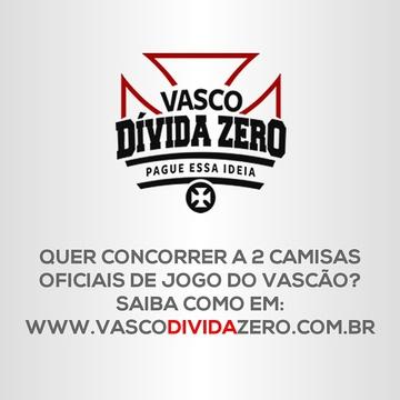 Sorteio de Camisa da Vasco Dívida Zero