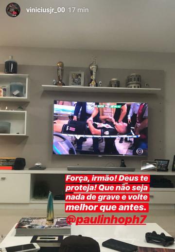 Vinícius Júnior e Paulinho