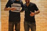 Souza e Alex Teixeira (Foto: Souza)