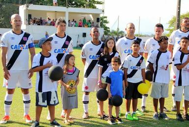 Time de Masters do Vasco atua em diversas regiões de Norte a Sul do Brasil