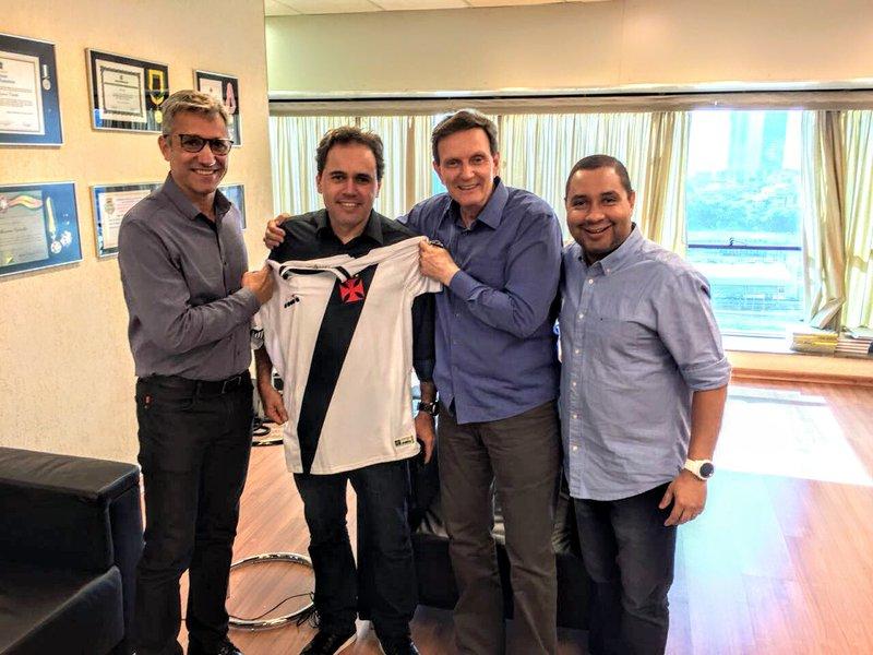 Alexandre Campello, vereador Isquierdo, Marcelo Crivella e Zé Fernando