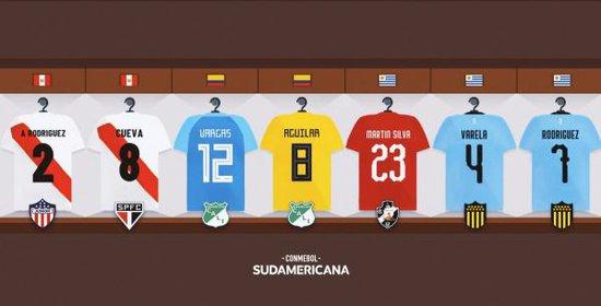 Jogadores inscritos na Sul-Americana