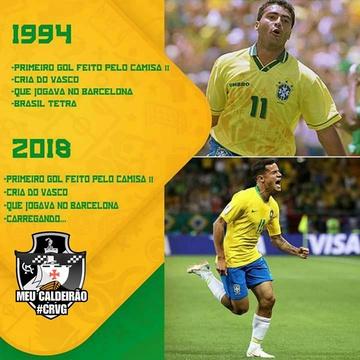 Meme Coutinho e Romário