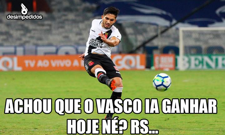 Meme Vasco x Cruzeiro