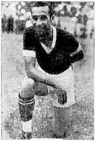 Niginho foi um dos representantes do Vasco na Copa de 1938