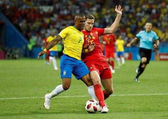 Brasil perde por 2 a 1 para a Bélgica