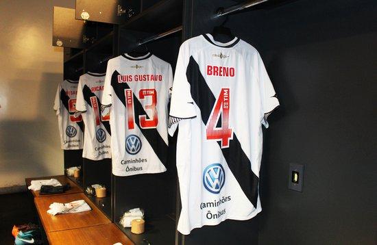 Camisa do Vasco com novo patrocínio