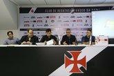 Diego Carvalho, Marcos Macedo, Bruno Maia, Alexandre Campello e Jorge Menezes Neto (Foto: Rafael Ribeiro/Vasco.com.br)