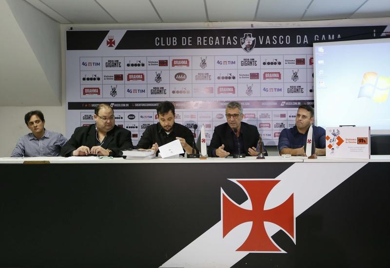 Diego Carvalho, Marcos Macedo, Bruno Maia, Alexandre Campello e Jorge Menezes Neto