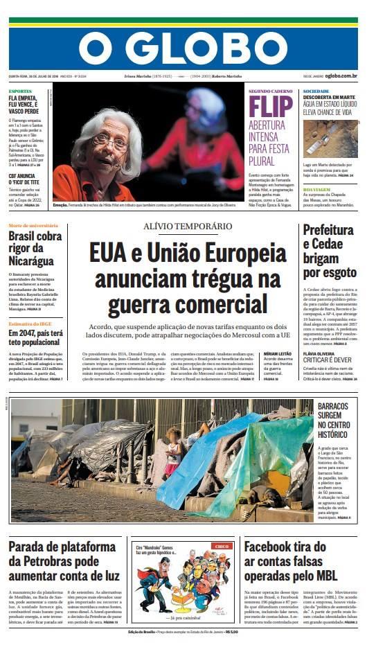 Jornal Vasco x LDU