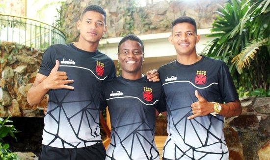 Marrony, Lucas Santos e Luan
