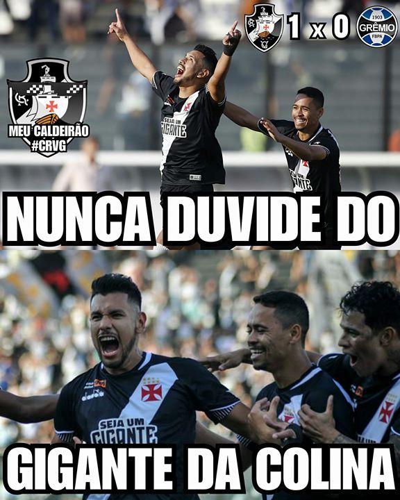 Meme Vasco x Grêmio