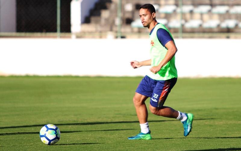 Pikachu foi um dos jogadores do Vasco que sentiram problemas em Brasília