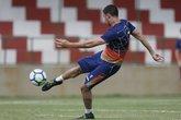 Thiago em treino (Foto: Twitter oficial do Vasco)