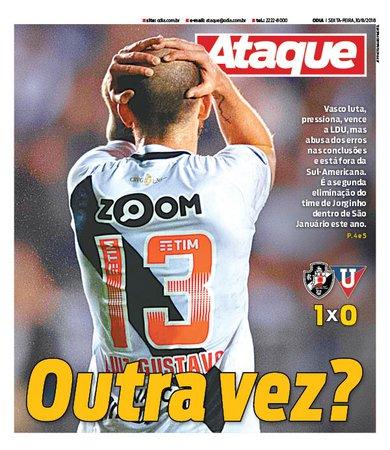 Jornal Vasco 1 x 0 LDU
