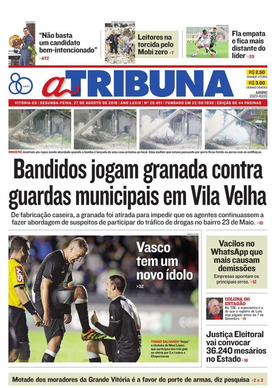 Jornal Vasco x Chape
