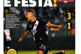 Jornal Vasco x Chape (Foto: Reprodução da internet)