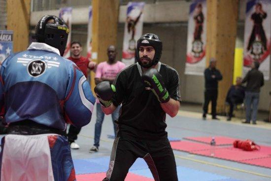 Phill Jonathan durante a competição no Chile