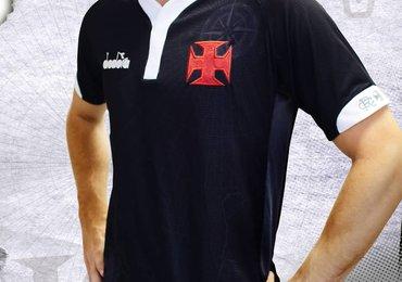 Confira a nova camisa III do Vasco